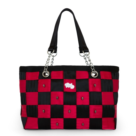 HerRoyalFlyness-skull-seatbeltbag